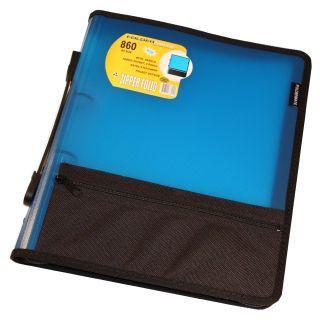 Compendium Zipper Folio A4 Foldermate Blue 860