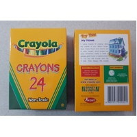 Crayon Crayola Regular Tuck Box Pack 24 5224HS