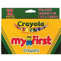 Crayon Crayola My First Pack 52912 10051540 - pack 12