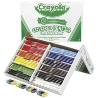 Pencils Crayola Class Pack Assorted Colours Box 240