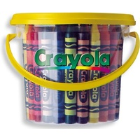Crayons Crayola Deskpack 522048 Assorted Bucket of 48