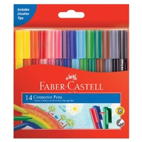 Connector Pens Faber Art Set Assorted Pack of 14