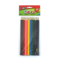 Coloured Pencils 12s Long Pack 12