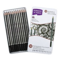 Derwent Pencil Academy Sketching 2301946 Tin 12