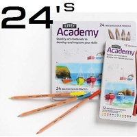 Derwent Watercolour Pencil Academy Tin 24