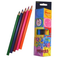 Pencil Colour Belgrave Triangular Jumbo 83050 - pack 12