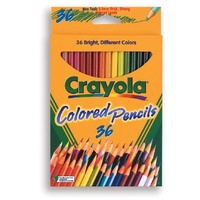 Pencils Crayola Coloured Pencils 36 Pack 684036 - pack 36