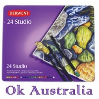 Derwent Pencils Coloured Studio R32197 - tin 24
