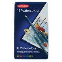 Derwent Coloured Pencils Watercolours 12 R32881 - pack 12