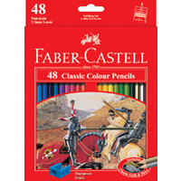 Pencils Coloured Pencils Faber Classic Full length 17cm 115858 - pack 48