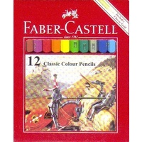 Pencils Coloured Pencils Faber Classic Half Length Non toxic Faber 16115851 - pack 12