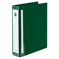 Binder A4 2 Ring D 50mm Green Deluxe Marbig 5912004