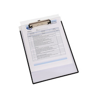 Clipboard A4 Clear Insertable can insert paper between front and back - each