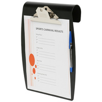 Clipboard A4 Marbig Hang It White or Black - each