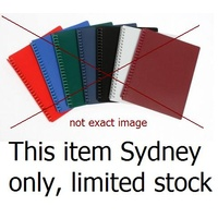 Display Book A4 20 Pocket Refillable Colours - each