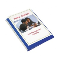 Display Book A4 Marbig 24 Pages Clearview 2055001 Blue