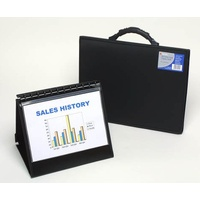Display Book Easel A4 Refillable Slimview Easel A4 Landscape 10 pocket - each