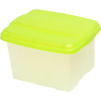 Porta Box Crystalfile Summer Colours Lime 8008404 Store and transport suspension files with ease.