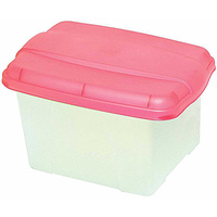 Porta Box Crystalfile Summer Colours Pink 8008409 Store and transport suspension files with ease.