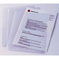 Letter File F/cap Clear polypropylene Marbig 2004512 - box 100