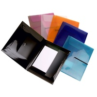 Document Wallet PP A4 Pop Duo Colby P337A CHOOSE YOUR COLOUR