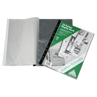 Display Book A4 10 pocket Fixed fits ringbinder Colby 215A - each