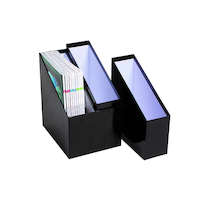 Magazine Holder Nesting Marbig Black 8012902 - Set of 3