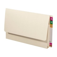 Avery 43950 Lateral document wallets Foolscap Extra Heavy Weight Buff - box 20 shelf lateral files