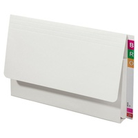 Avery 43955 Lateral document wallet FC Extra Heavy Weight white - box 20