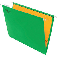 1. Suspension Files FC Marbig Green With Tabs + Inserts 8100104 Box 50