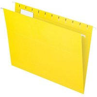 1. Suspension Files FC Marbig Yellow With Tabs + Inserts 8100105 Box 50