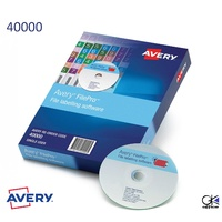 FilePro Lateral Filing Software Single User Avery 40000 PC ONLY