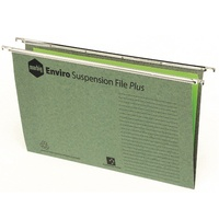 1. Suspension Files FC Marbig complete bx50 steel runners 11307C Enviro Box 50 with Tabs & Inserts 81005