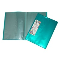 Display Book A4 Colby 10 Page Harlequin H253A10 Teal Green