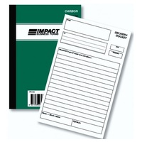 Delivery Docket Book Impact Upright Duplicate A5 PC130