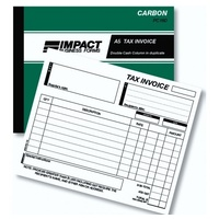Invoice and Statement Book Impact A5 Duplicate PC160