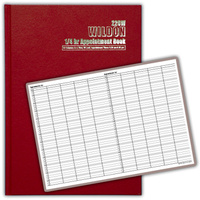 Appointment book Wildon WIL220 1/4 hour Red - each
