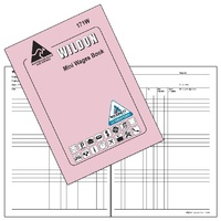 Wages Book Mini Wildon WIL171 L/Pur - each