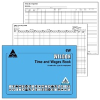 Time And Wages Book Wildon 6W