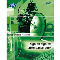 Sign On Sign Off Attendance Book Zions SOSO - each