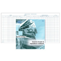 Business Income Expenditure Recorder Book Zions 212 - each