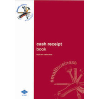 Cash Receipts Book Zions Small Business Essentials SBE5 - each
