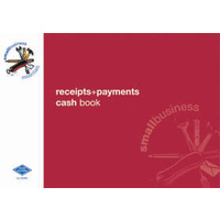 Receipts Payments Book Zions Small Business Essentials SBE12 - each