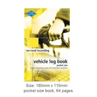 Log Books Pocket Vehicle Zions PVLB - each