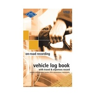 Log Books Combined Vehicle and Travel & Expenses Record Book Zions VTED - each