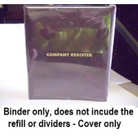 Company Register Binder only no refill A4 3/32/D BOYC - each