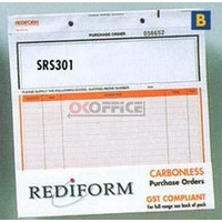 Rediform Triplicate Purchase Order Snap Sets SRS301 - pack 50
