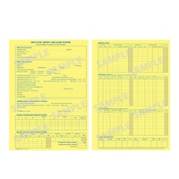 Employee History & Leave Record Card Zions EHR2 - pack 20