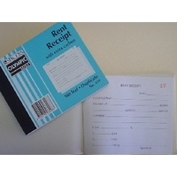 Book Rent Receipt Book 4 x 5 inch DUPLICATE no 619 olympic 08298 - each