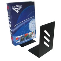 Book Ends Italplast I400 Black - pair
